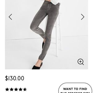 Madewell: High-Rise Skinny Jeans: Corduroy Edition